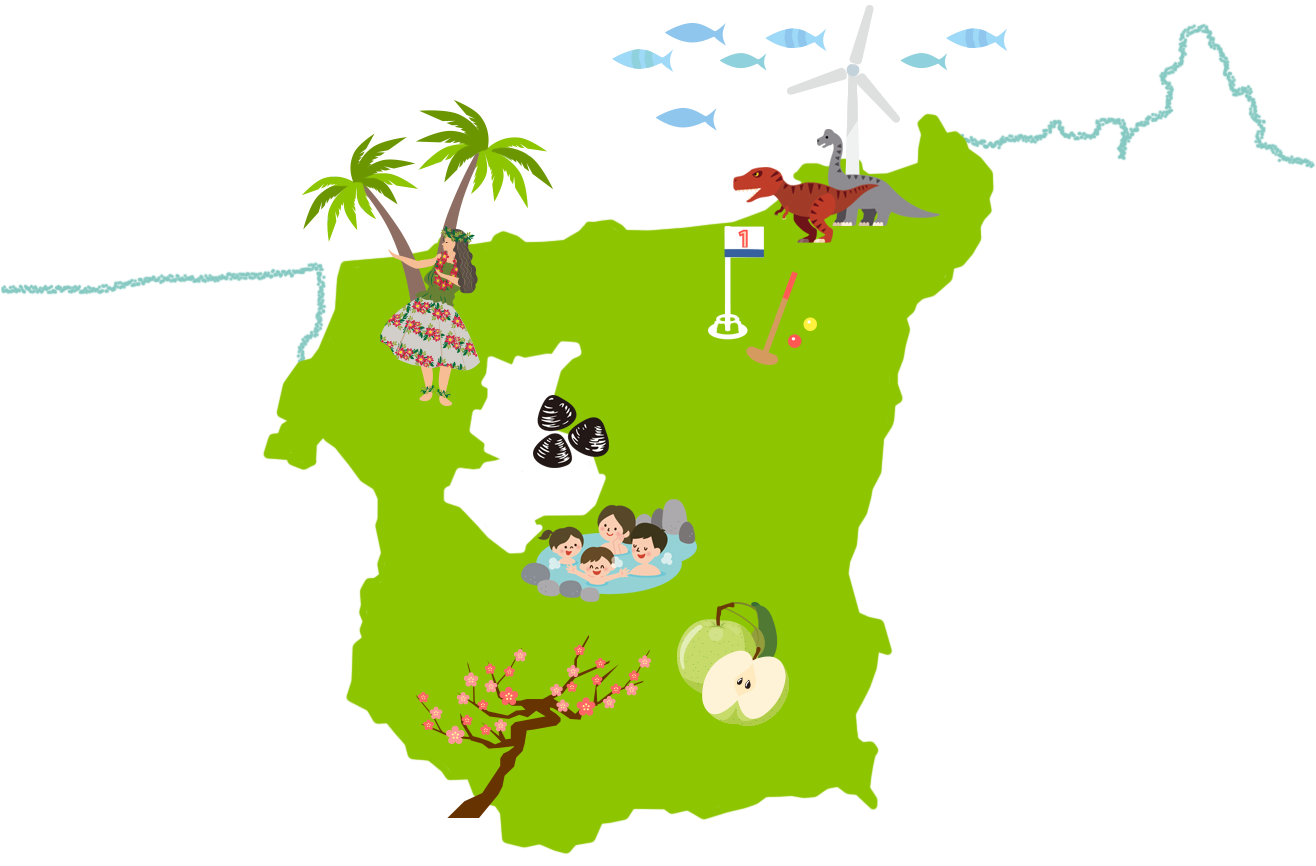 湯梨浜MAP